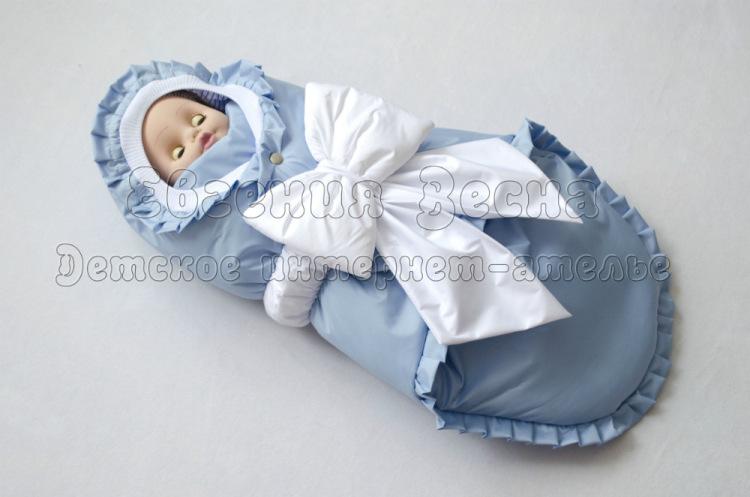 Конверт для прогулок новорожденному своими руками 87