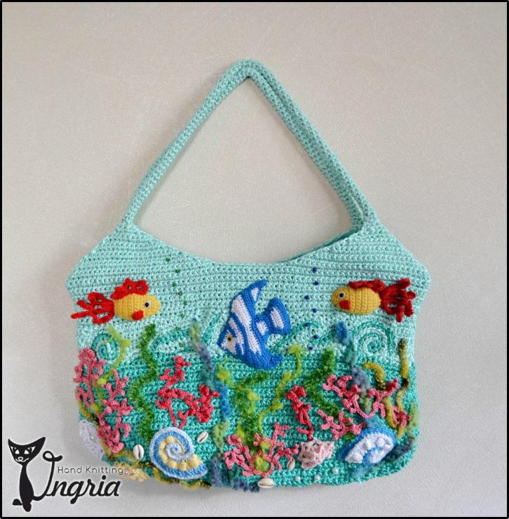 Gallery.ru / Сумка Аквариум 2 - Мои творения: сумки - Ingria