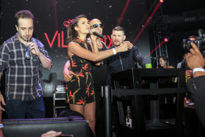 Nina Dobrev and Vin Diesel party at Villa Mix Nightclub [30 ноября]