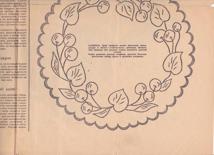 Журнал работница и крестьянка вышивки 21