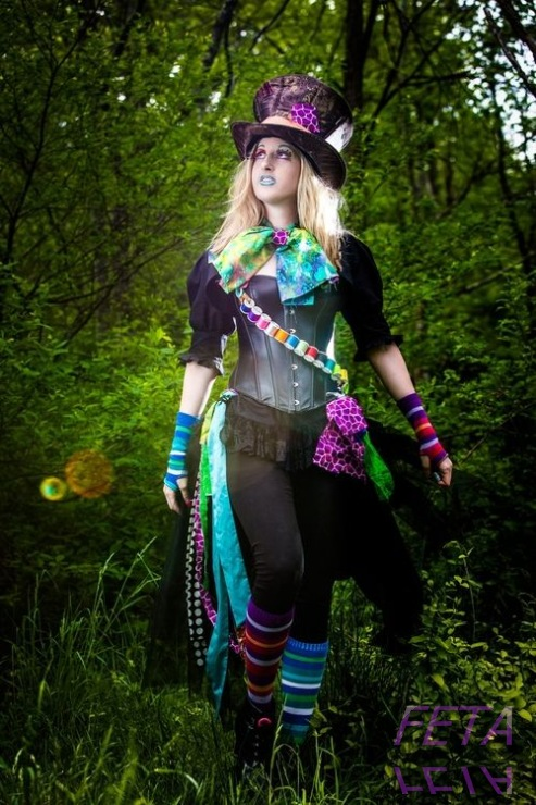 Mayhem mad hatter juniors costume