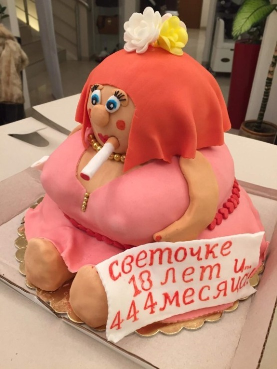Торти з приколами фото