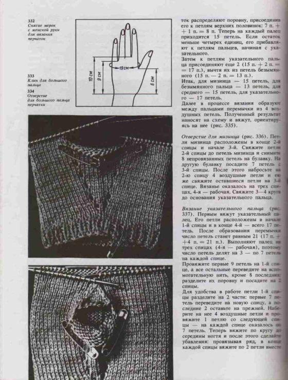 Азбука вязания максимова перчатки