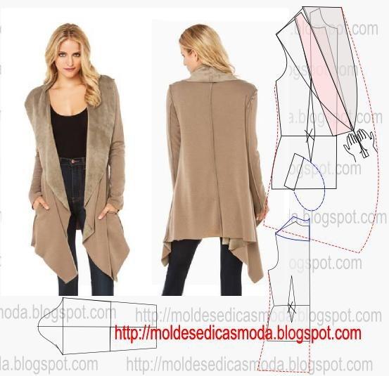 Уютное пальто своими руками