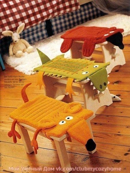 Подушки на стул фото выкройки
