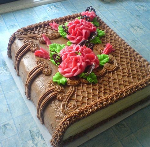 Книги для оформления тортов