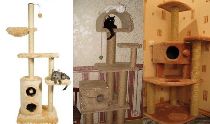 Домик для кошки для дома