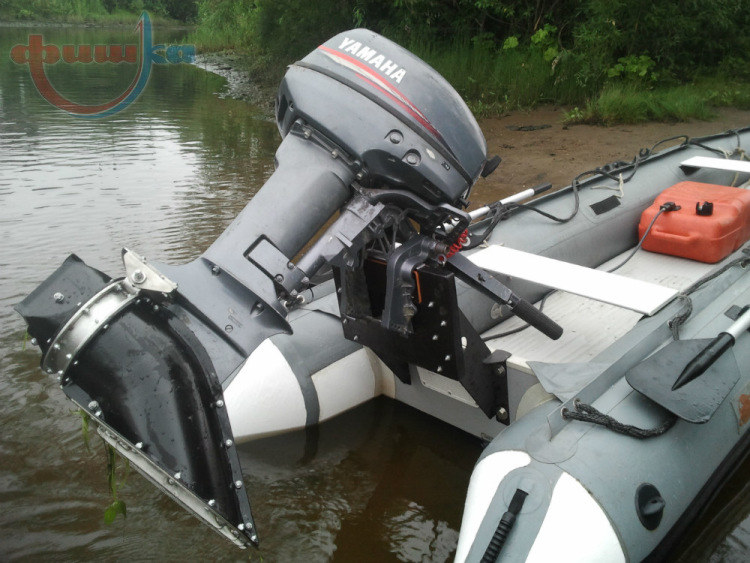 водометы на базе лодочных моторов
