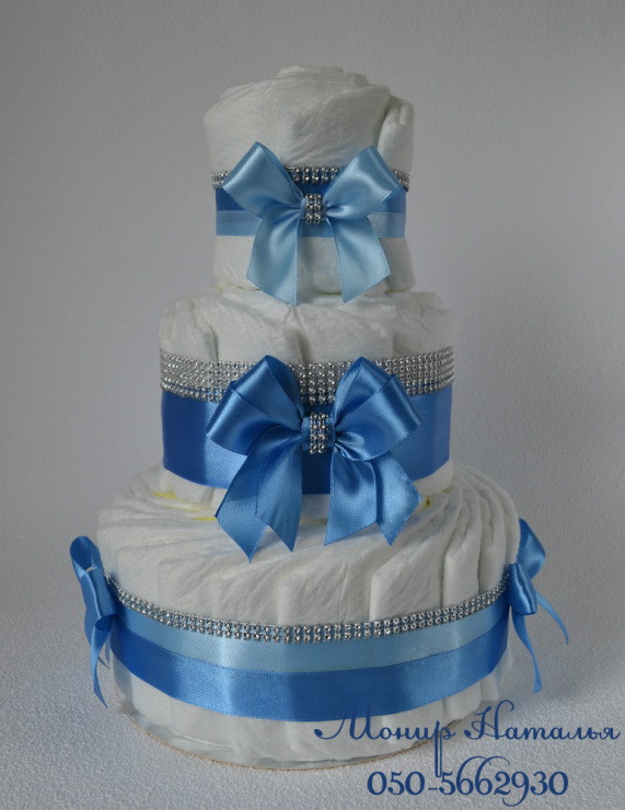 Торт из 27 памперсов своими руками 22