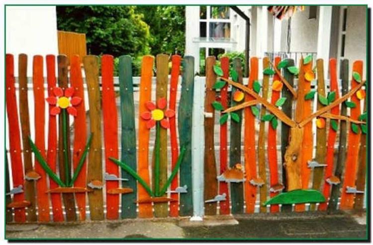 Сделать декоративный забор своими руками