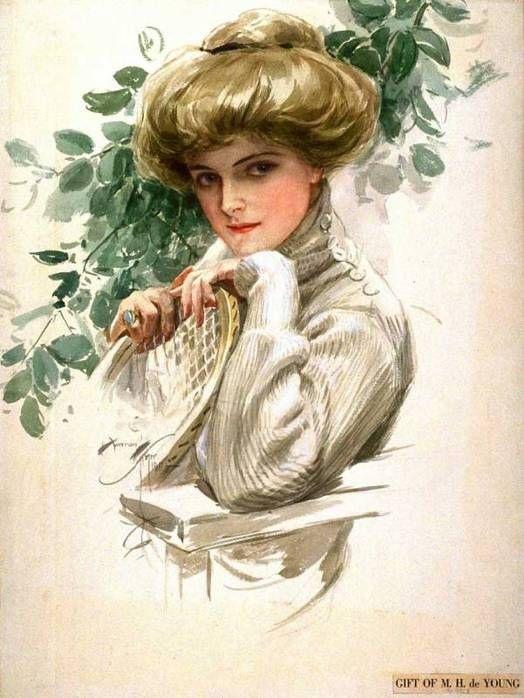 Ретро открытки женщинам