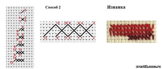 Gallery.ru / Фото #5 - Мулине меланж и мультиколор (как вышивать) - rondo32
