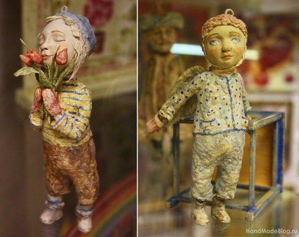 Мастер класс куклы из папье маше