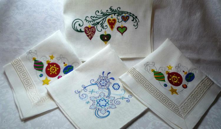 Сувенирные изделия с вышивкой 51