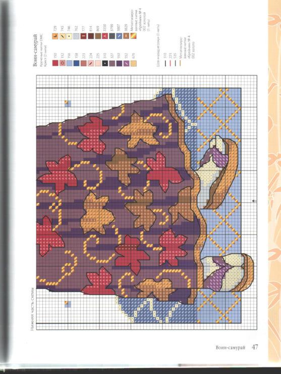 Схемы вышивки крестом лесли тиэри 20