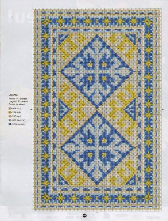 Рисунок ковров своими руками
