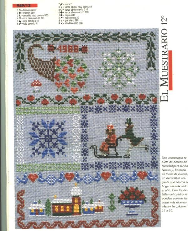 Журнал бурда вышивка крестом схемы 48