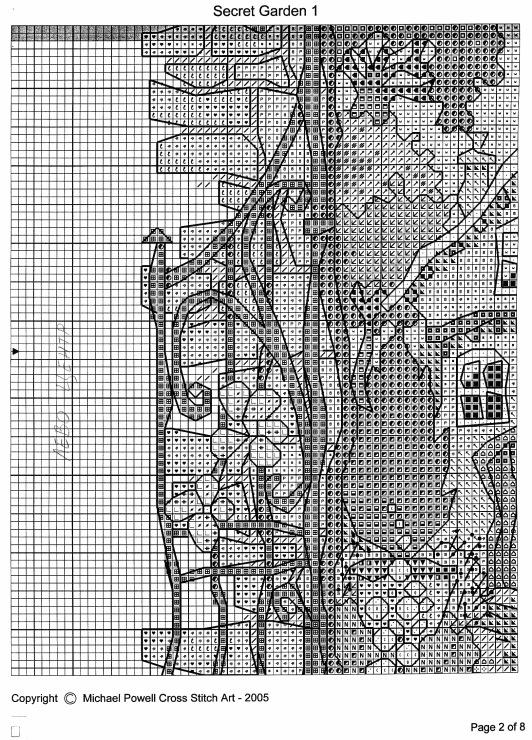 Схемы вышивки крестом майкла пауэлла 758