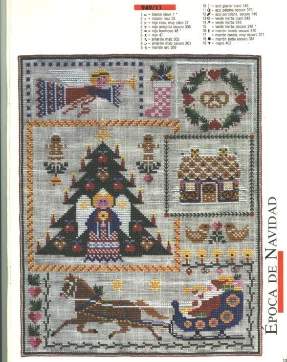 Журнал бурда вышивка крестом схемы 2