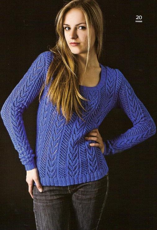 Джемпер фото для вязания